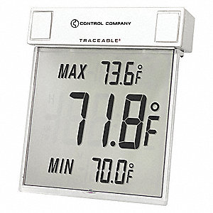 Digital Therm, Big-Digit See-Thru F