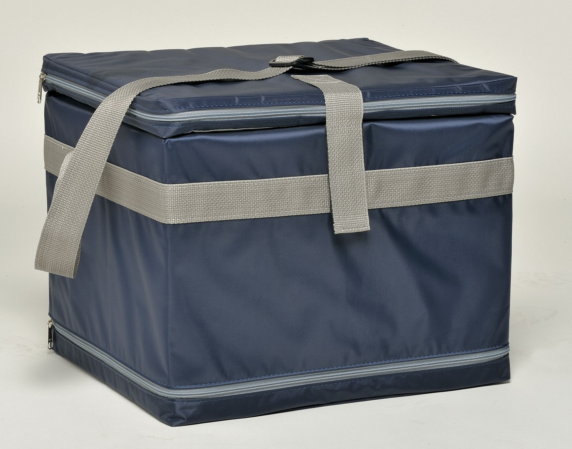 Medical Transfer Tote, 0.59 cu ft, Blue Nylon