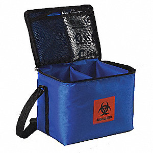 Medical Transporter Tote,0.3 Cu-Ft
