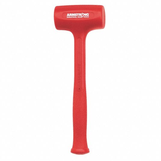 Armstrong Industrial Hand Tools Dead Blow Hammer Hot Cast Urethane 3ktu2 69 532 Grainger Change out the faces when they become worn. dead blow hammer hot cast urethane
