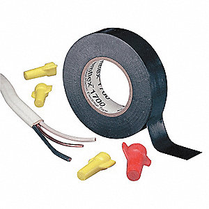 "Elctricl Tape,7 mil,3/4""x60 ft.,Blk,PK10"
