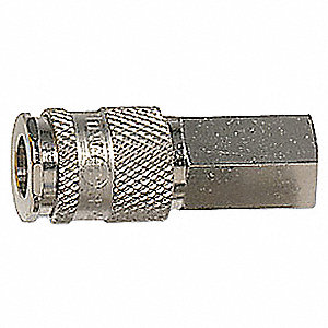 Steel Universal Quick Coupler Plug