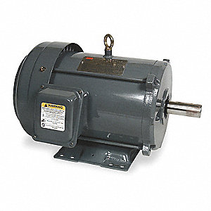 5 HP General Purpose Motor,3-Phase,1165 Nameplate RPM,Voltage 208-230/460,Frame 254/6U