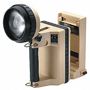 Halogen Tactical Lantern, ABS Plastic, Maximum Lumens Output: 150, Tan, 11.50""