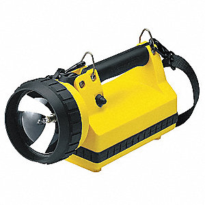 Lantern, Halogen, Plastic, Maximum Lumens Output: 400, Yellow, 11.50""