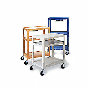 Utility Cart,Steel,18 Lx24 W,200 lb Cap.