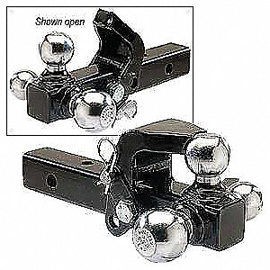 Triple Ball Mount With Pintle Hook