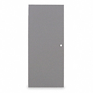 Flush Steel Door,Type 1,84 x 48 In