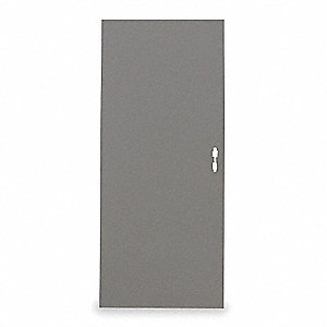 Flush Steel Door,Type 3,80 x 32 In