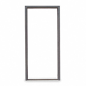 Security Door Frame,Masonry,RH,37-1/8in.