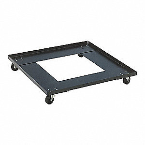 23 1 2 L X 22 3 4 W 5 H Brown Stacked Chair Dolly 250 Lb Load Capacity