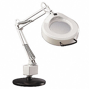 Magnifier Light,1.75,Light Grey,Arm 30In