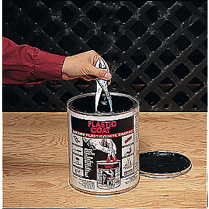 PVC Maintenance Coating,Black,1 gal