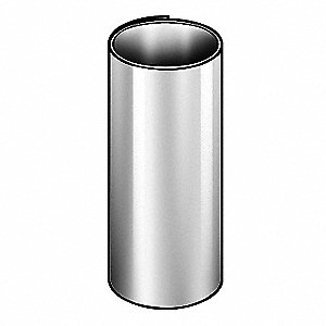 "Stainless Steel Shim Stock Roll, 302 Grade, 0.0100"" Thickness, ±0.001"" Thickness Tolerance"