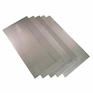 Steel Shim Stock Sheet Assortment, 1008-1010 Grade, Thickness Range (In.) : 0.001 to 0.031