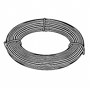 Music Wire, C1085 Steel Alloy, 22, 0.049 In