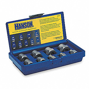 Screw & Bolt Extractor Sets - Machining Supplies - Grainger