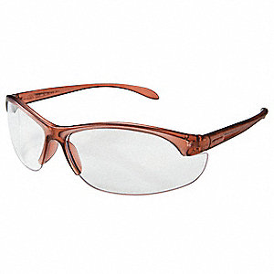 W200 Anti-Fog Safety Glasses, Clear Lens Color