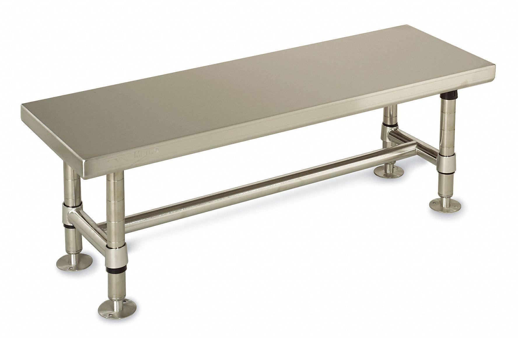 metro cleanroom gowning bench,36 in - 3ldk2|gb1636s - grainger