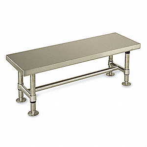 CLEANROOM GOWNING BENCH,48 IN
