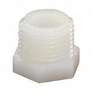 Nylon Pipe Plug, 1/2 In.