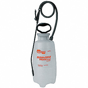 Farm Sprayer,Poly,3 gal,36 In Hose