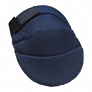 Soft 2-Strap Knee Pads, Blue, Universal