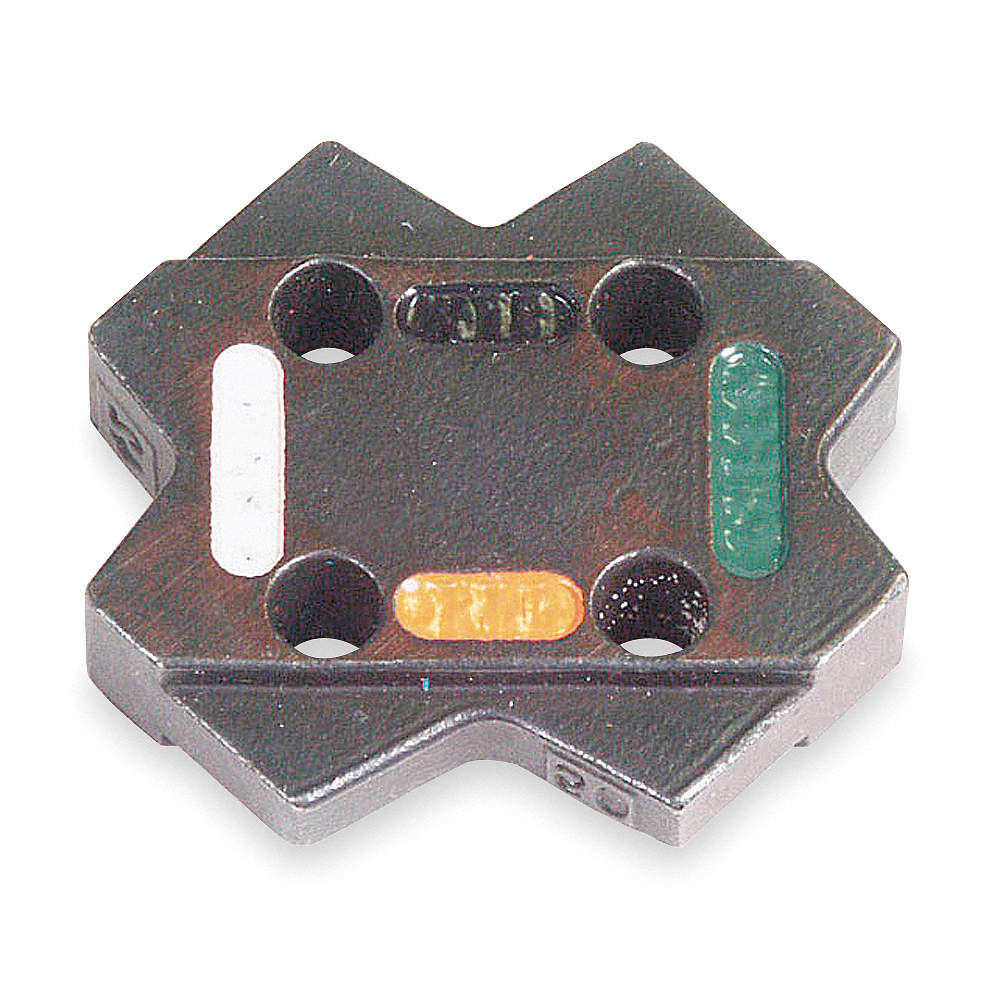 THOMAS & BETTS Upper and Lower Crimping Die for Electrical Wire and ...