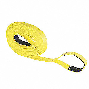 Tow Strap,Nylon,1600 lb.,2in.,30 ft.