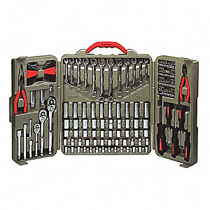SAE and Metric Master Tool Set, Number of Pieces: 148, Primary Application: Mechanic