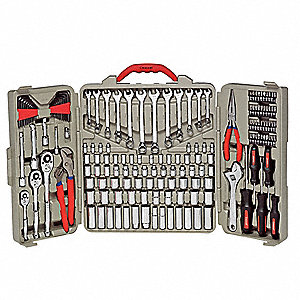 SAE and Metric Master Tool Set, Number of Pieces: 170, Primary Application: General Purpose