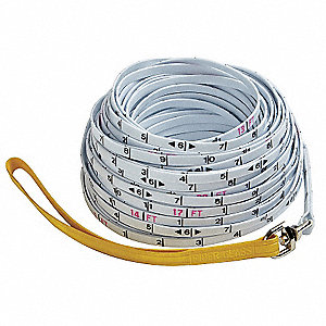 Surveyor Rope,1/4 In x 50m,mm