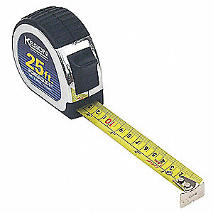 MEASURING TAPE,25 FT,ENGINEERS