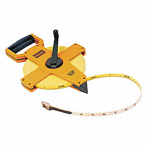 MEASURING TAPE,OPEN,50 FT,FT/IN/8TH