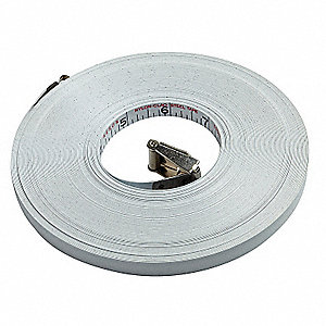 Steel Tape Refill, 100 Ft, Engr