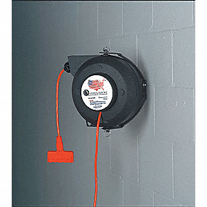 Retractable Cord Reel, 50 ft. Cord Length