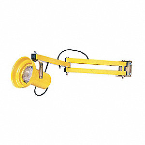 "Incandescent Dock Light, 40"" Arm Length, 150/300 Lamp Watts, 115 Voltage"
