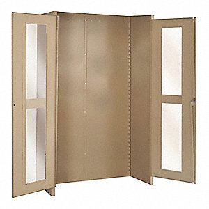 Tan Steel Cabinet Components For 7Y268