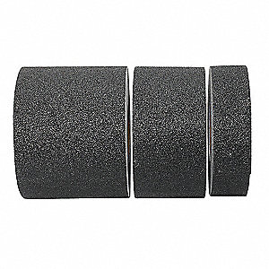 "60 ft. x 2"" Extra Coarse Grit Coated Antislip Tape, Black"