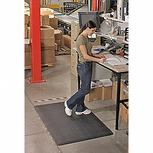 Antifatigue Mat, Composite, 3 ft. x 2 ft., 1 EA