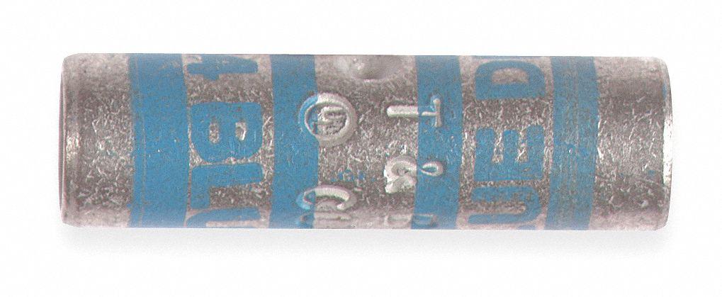 THOMAS & BETTS Short-Barrel Splice, White, 300 kcmil Wire Gauge, Die ...