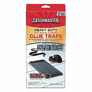Glue Trap,10-1/4 In. L,5-7/32 In. W,PK2