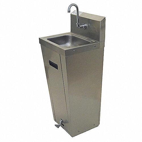 Advance tabco lavamanos l total 15 1 4pulg lavabos y for Lavabo de manos