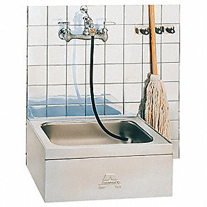 Mop Sink,304 stainless steel ,21 In L