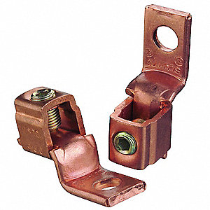 Mechanical Connector, Electrolytic Copper, Max. Conductor Size: 3/0 AWG Stranded