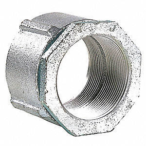 Coupling,Malleable Iron ,2 In