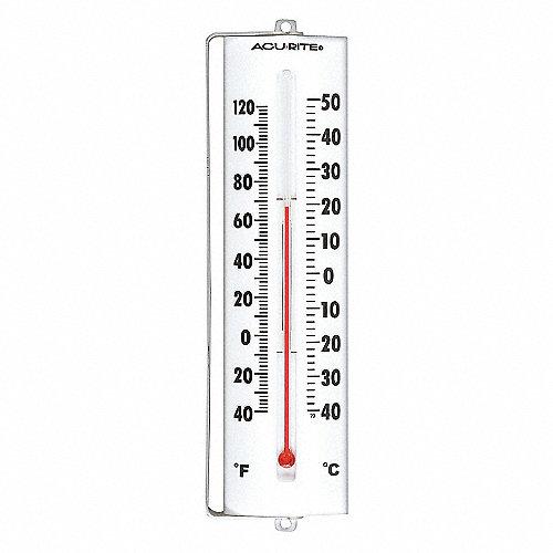 Grainger approved term metro an logo negro al 8 1 2 pulg term metros para ventanas - Termometro de pared ...