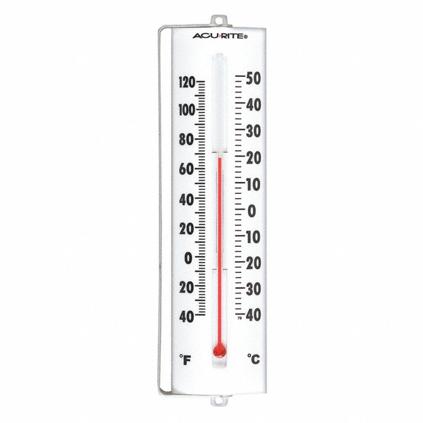 GRAINGER APPROVED Analog Thermometer,-40 to 120 Degree F