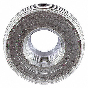 "2"" x 1"" Threaded IMC, Rigid Reducing Bushing, 27/32"" Overall Length"