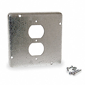 Electrical Box Cover,Duplex Receptacle